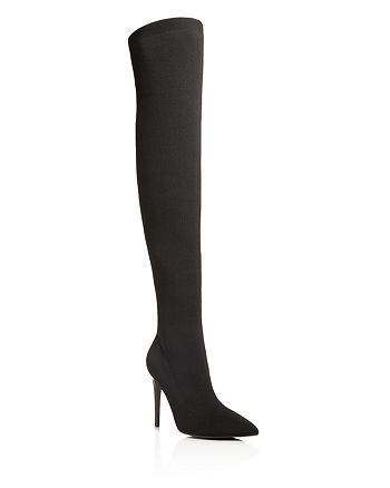 KENDALL and KYLIE - Women's Anabel Stretch Knit Over-the-Knee Boots