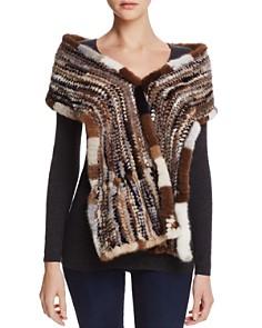 Maximilian Furs Knit Mink Fur Stole - Bloomingdale's_0