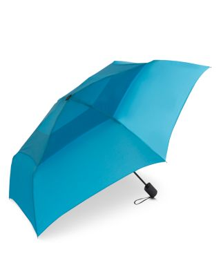 SHEDRAIN Windpro Vented Automatic Compact Umbrella in Laguna Blue