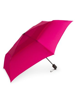 SHEDRAIN Windpro Vented Automatic Compact Umbrella in Raspberry