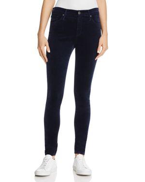 Ag Farrah Velvet Skinny Jeans in After Dark - 100% Exclusive 2634660