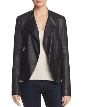 Theory Bristol Leather Jacket