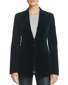 Theory - Tailored Velvet Blazer