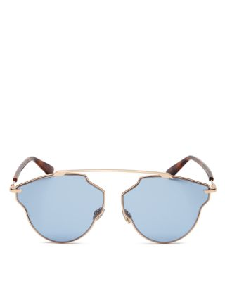 $Dior Women's So Real Pop Brow Bar Geometric Sunglasses, 58mm - Bloomingdale's