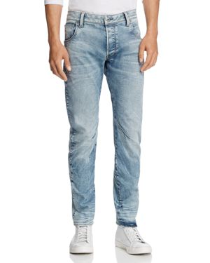 G-star Raw Arc Slim Fit Jeans in Light Aged