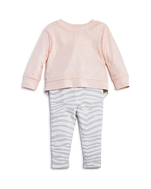 Splendid Girls' Zebra Print Sweater & Leggings Set - Baby