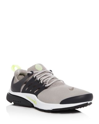 593cde78f51b Nike Men S Air Presto Essential Lace Up Sneakers In Gray Lime
