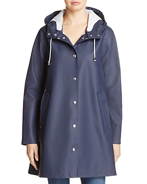 Stutterheim Mosebacke Rubberized Hooded Raincoat