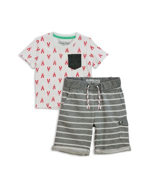 Sovereign Code Boys' Trav + Su-Bin Tee & Shorts Set - Baby