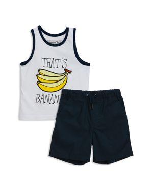 Sovereign Code Boys' Rudyard + Severino Tank & Shorts Set - Baby
