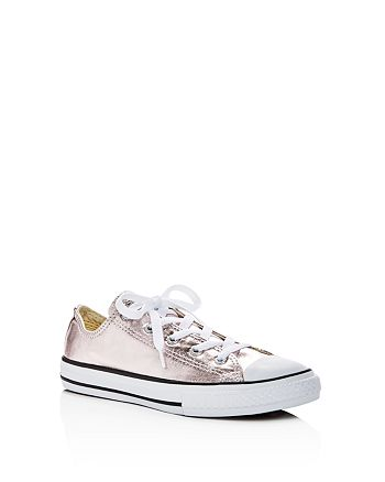 Converse - Girls' Girls' Chuck Taylor All Star Metallic Lace Up Sneakers - Toddler, Little Kid