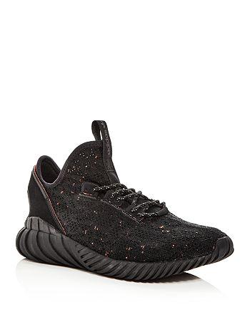 online store 651c7 bafea Adidas Men's Tubular Doom Sock PrimeKnit Lace Up Sneakers ...