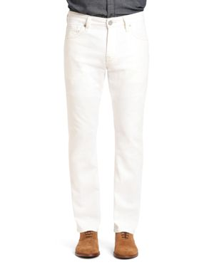 34 Heritage Courage Straight Fit Jeans in White