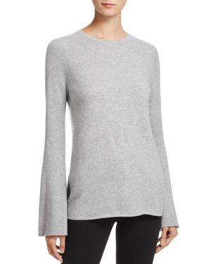 Aqua Cashmere Bell-Sleeve Crewneck Sweater - 100% Exclusive