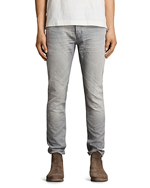 Allsaints Grayson Rex Slim Fit Jeans in Gray