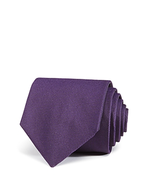 Boss Textured Solid Classic Tie