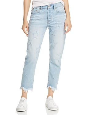 Pistola Charlie Star Straight-Leg Jeans in Starstruck