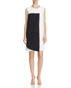 Catherine Catherine Malandrino Nandi Color-Block Shift Dress