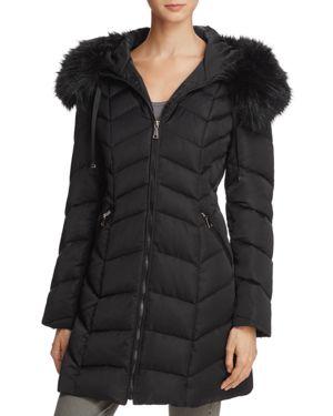 T Tahari Gwen Quilted Coat