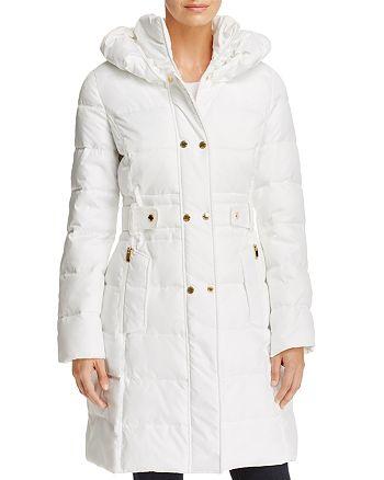 Via Spiga - Contrast Placket Puffer Coat