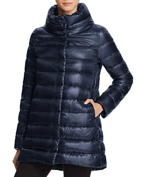 Herno - Herno Stand Collar Down Coat ...