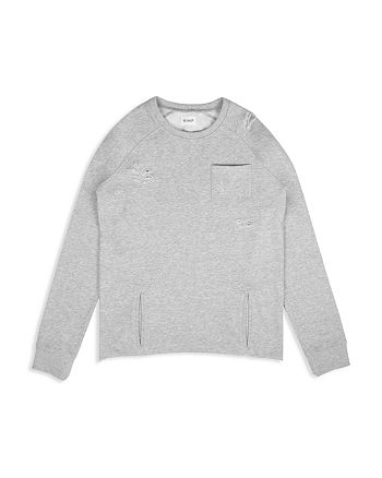 Hudson - Boys' Distressed Raglan Sweatshirt - Little Kid