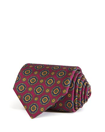 Drake's - Alternating Medallion Classic Tie