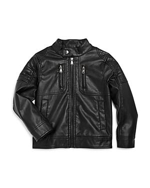 Urban Republic Boys FauxLeather Moto Jacket  Little Kid Big Kid