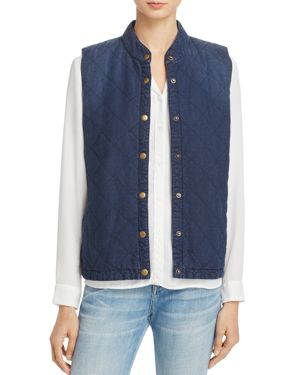 Soft Joie Keilah Quilted Snap-Front Vest 2652401