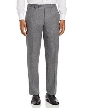 Jack Victor - Flannel Regular Fit Dress Pants