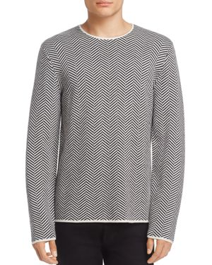 Theory Hersomm Herringbone Sweater - 100% Exclusive