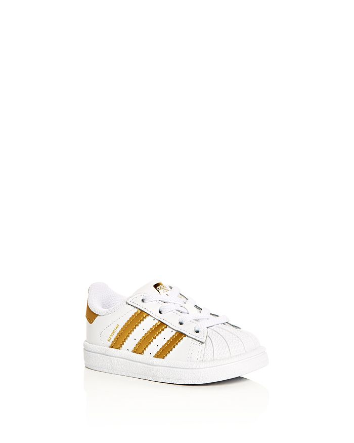Adidas - Unisex Superstar Lace-Up Sneakers - Walker, Toddler