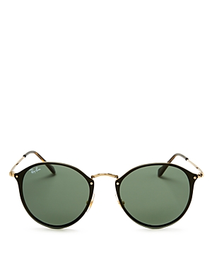 Ray-Ban Blaze Round Sunglasses, 59mm