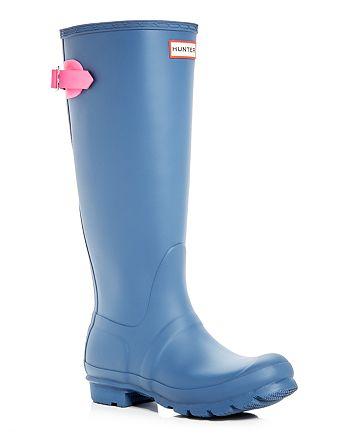 Hunter - Women's Original Adjustable Back Matte Rain Boots