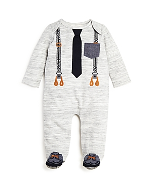 Miniclasix Boys' Footed Coverall - Baby