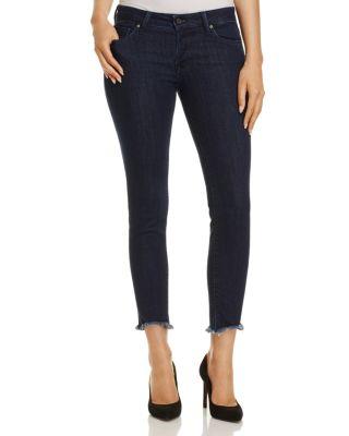 MAVI Adriana Ankle Skinny Jeans In Rinse Tribeca