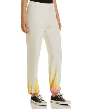 Wildfox Wildfire Flame Sweatpants