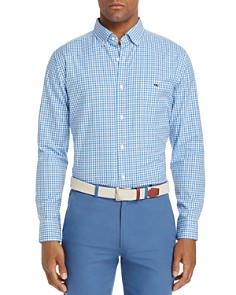 Vineyard Vines - Seafloor Tucker Gingham Classic Fit Button-Down Shirt