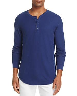 Goodlife Long Sleeve Double-Layer Henley Top
