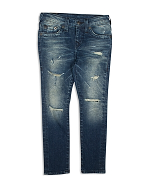 True Religion Boys Distressed Skinny Jeans  Big Kid
