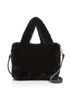 4f8521e7fd0e VASIC Madison Small Leather   Faux Fur Crossbody