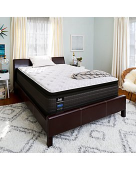 Sealy - Spring Hill Cushion Firm Euro Pillow Top Mattress Collection