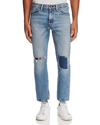 Levi's - Sublime Rhythm Pieced Straight Fit Jeans in Blue