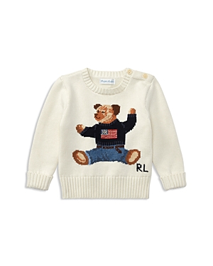 Ralph Lauren Childrenswear Boys Bear Sweater  Baby