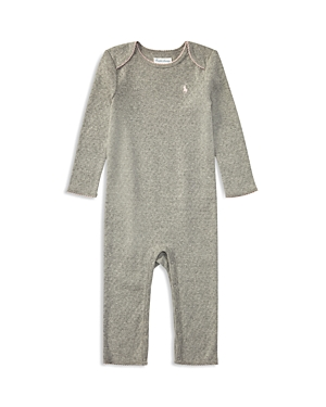 Ralph Lauren Childrenswear Girls Pointelle Coverall  Baby