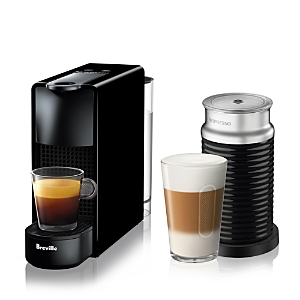Nespresso Essenza Mini Espresso Machine Bundle by Breville