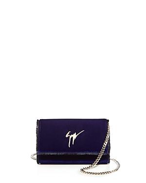 Giuseppe Zanotti Velvet Chain Wallet - 100% Exclusive