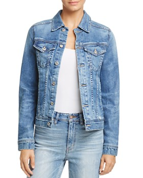 AG - Led Denim Jacket in 10 Years Magnetic Blue