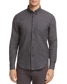 Naked & Famous - Printed Button-Down Regular Fit Shirt