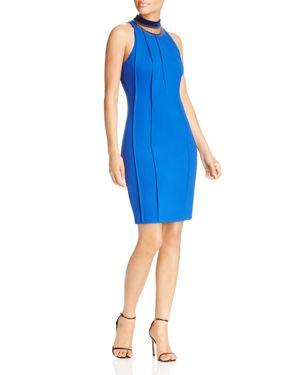 T Tahari Bristol Embellished Collar Dress